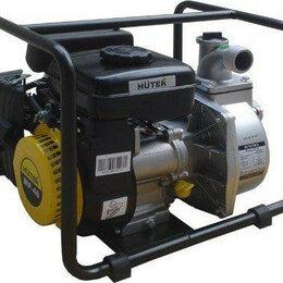 Мотопомпы - Мотопомпа бензиновая HUTER MP- 40 для слабозагрязненной воды [70/11/2], 0