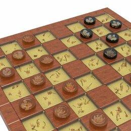 Настольные игры - Настольная игра шашки, 0
