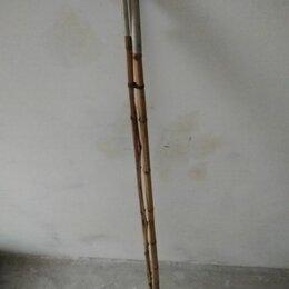 Удилища - Удочка трёхколенная бамбуковая, 0