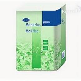 Пеленки, клеенки - HARTMANN MOLINEA PLUS Пеленки впитывающие 60х60 см, 130 г/м?, 10 шт. , 0