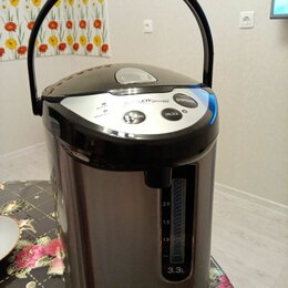 Электрочайники и термопоты - Новый термопот электрочайник Scarlett Silver Line, 0
