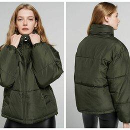 Пуховики - Новые куртки с флисовым подкладом (XS и L), 0