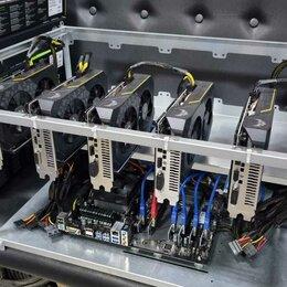 Промышленные компьютеры - майнинг ферма 6 карт 1660super 190 мегахеш ETH , 0