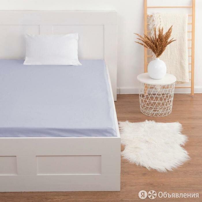 Простыня на резинке 'Этель', 140*200+20 см, серый по цене 1131₽ - Постельное белье, фото 0