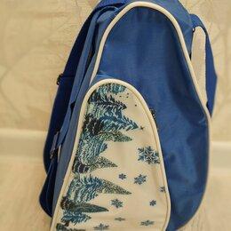 Аксессуары и комплектующие - Сумка рюкзак для коньков, 0