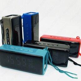 Портативная акустика - Портативная, беспроводная колонка~часы  bluetooth tg174, 0