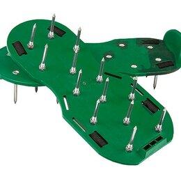 Мини-инструменты - Аэратор ножной для газона, сандалии PALISAD, 0