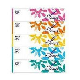 """Бумажные салфетки, носовые платки - Бумажные двухслойные салфетки Kami Shodji """"Ellemoi"""", 200 шт (спайка 5 пачек), 0"""