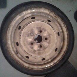 Шины, диски и комплектующие - Запасное колесо (банан) D14 5x100 T125x70, 0