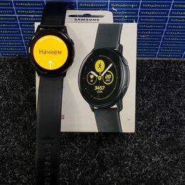 Умные часы и браслеты - Cмарт-часы Samsung Galaxy Watch Active Black, 0