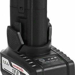 Аккумуляторы и зарядные устройства - Аккумулятор ИНТЕРСКОЛ 18.0V 1,5 Ач Li-Ion, 0
