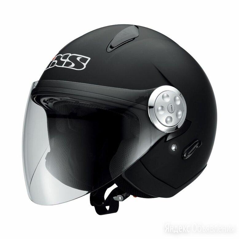 Открытый шлем для мотоцикла IXS HX137 черный матовый по цене 6000₽ - Мотоэкипировка, фото 0