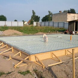Архитектура, строительство и ремонт - Фундамент монолитная плита, ленточный фундамент, цокольный этаж , 0