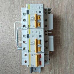Защитная автоматика - Блок IEK АВТ 63А,УЗО32А,УЗО16А, 0