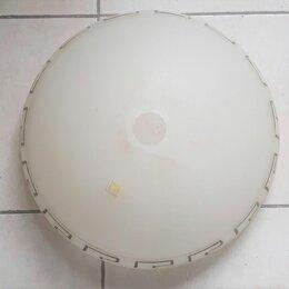 Шнуры, плафоны и комплектующие для светильников - Плафон стеклянный белый Этруска E27 для люстры, 0