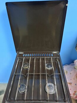 Плиты и варочные панели - Газовая плита Россиянка Ширина 50 см, 0