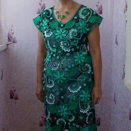 """Платья - Платье"""" Изумруд"""" ирландское кружево, 0"""