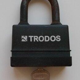 Замки и комплектующие - Замок навесной всепогодный Trodos BM-02-75, 0