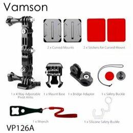 Аксессуары для экшн-камер - Набор креплений на шлем Vamson для Gopro, 0