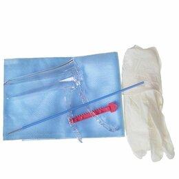Оборудование и мебель для медучреждений - Набор гинекологический о/р Ева-1 стер. (зеркало S, салфетка, перчатки, Цитощетка, 0