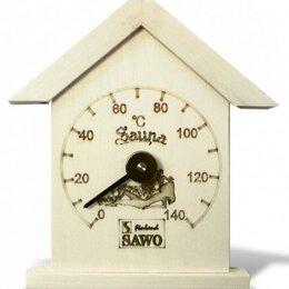 Датчики температуры, влажности и заморозки - Термометр, Маленький домик, Осина, 115-TA, 0