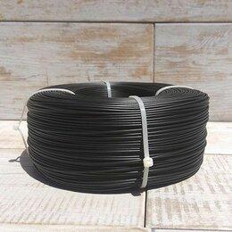 Расходные материалы для 3D печати - PETG пруток 1.75 мм черный, бухта 750р, 0