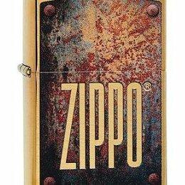 Пепельницы и зажигалки - Зажигалка Zippo 29879 Rusty Plate Design, 0