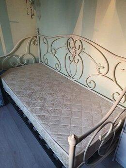 Кровати - Кровать металлическая односпальная, 0