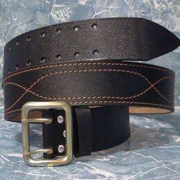 Ремни, пояса и подтяжки - Офицерский кожаный ремень , 0