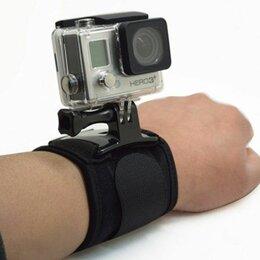 Аксессуары для экшн-камер - Крепление на руку для экшн камер Yi/GoPro/SjCam, 0