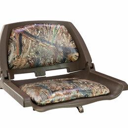 Походная мебель - Кресло складное мягкое TRAVELER, обивка камуфляжная ткань DUCK BLIND, 0
