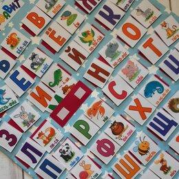 Обучающие плакаты - Плакат алфавит из фетра для детей, 0