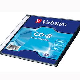 Диски - Диск Verbatim CD-R  700 Мб DL 52х Extra Protection Slim, 0