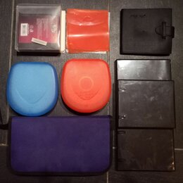 Сумки и боксы для дисков - Комплект папок, боксов, конвертов для дисков, 0