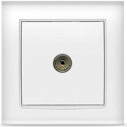 Кольца и перстни - UNIVersal Бриллиант розетка TV СУ 1 мест. бел. (керам. осн., RG6) 7947571, 0