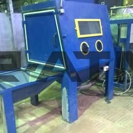 Производственно-техническое оборудование - Пескоструйная кабина / камера ВМЗ, 0