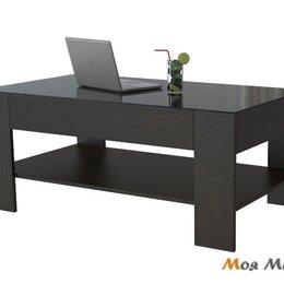 Столы и столики - Стол журнальный BeautyStyle 26 в цвете Венге-Черное стекло, 0