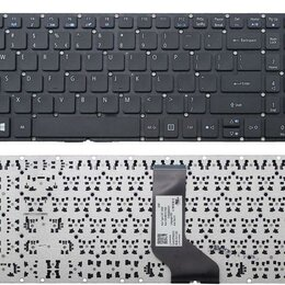 Клавиатуры - Новая клавиатура для ноутбука Acer E5 чёрная, 0