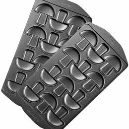 """Сэндвичницы и приборы для выпечки - Панель """"Грибочки"""" для мультипекаря Redmond RAMB-34, 0"""