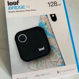 USB Flash drive - Usb флэш накопитель беспроводной leef ibridge air 128gb, 0