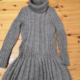 Свитеры и кардиганы - Платье-свитер оригинальное, чистошерстяное 44-46-48 р, 0