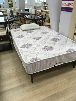 Кровати - Кровать металлическая односпальная , 0