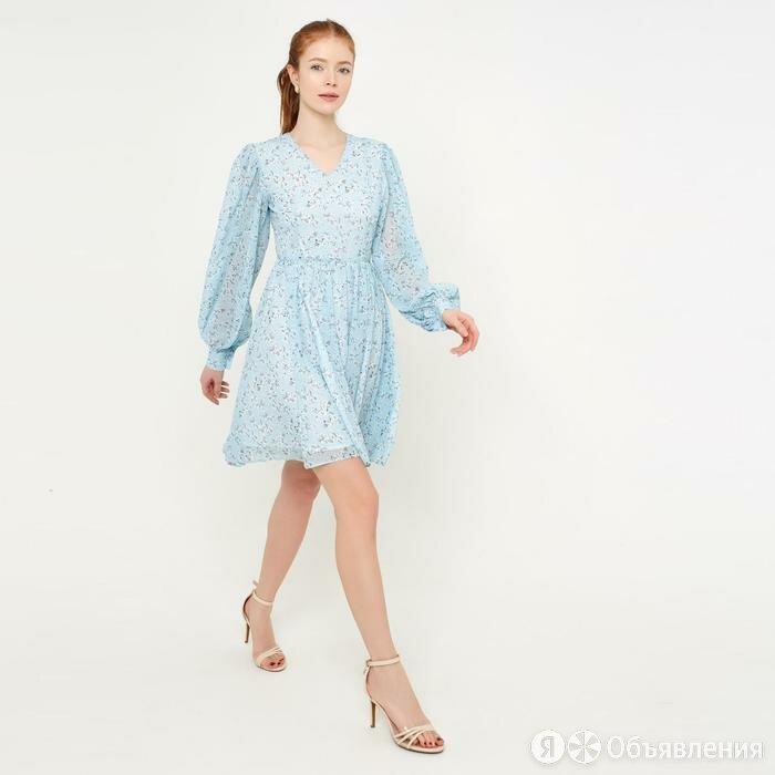 MINAKU Платье женское MINAKU: Green trend  цвет голубой, р-р 46 5531668 по цене 2124₽ - Платья, фото 0