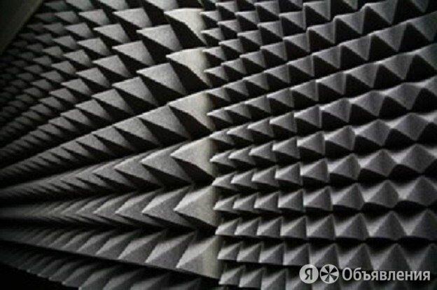 Акустический ППУ SPG 2236 «Пирамида» 60 мм 2х1 (осн. 15 мм), темно-серый-графит по цене 1990₽ - Оборудование для звукозаписывающих студий, фото 0