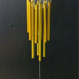 Интерьерная подсветка - Музыка ветра золотая, 13 трубочек, 0