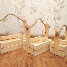Дизайн, изготовление и реставрация товаров - Производство деревянных ящиков, 0