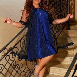 Платья - Вечернее блестящее платье р-ры 50-60, 0
