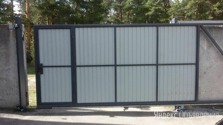 Откатные Ворота по цене 7000₽ - Заборы, ворота и элементы, фото 0