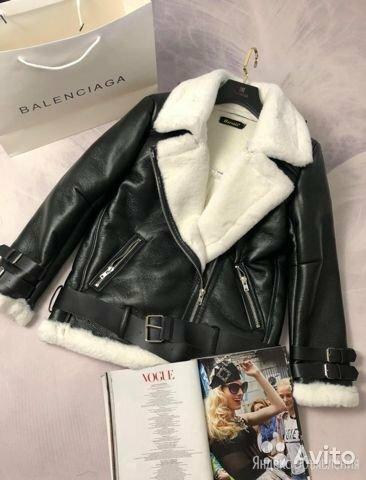 Куртка кожзам женская зимняя по цене 5000₽ - Куртки, фото 0