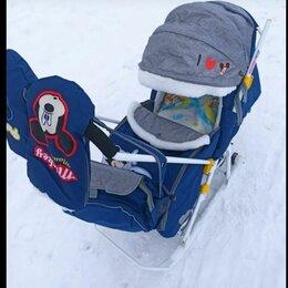 Санки и аксессуары - Санки коляска kelkka arctic ника 7, 0